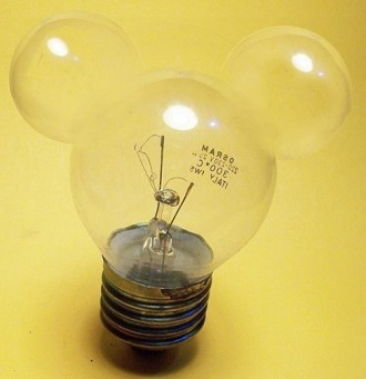 Mickey Light Bulb