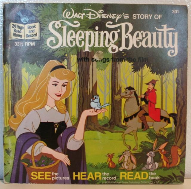 Sleeping Beauty Reading Book 1