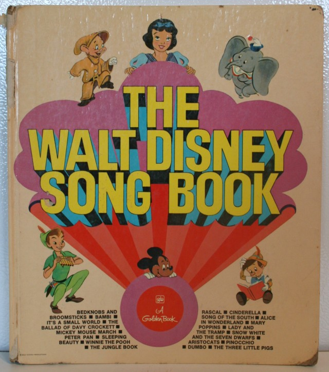 Walt Disney Song Book 001