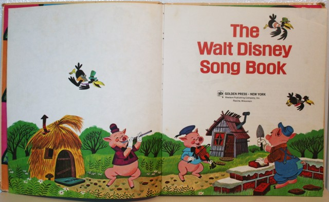 Walt Disney Song Book 004