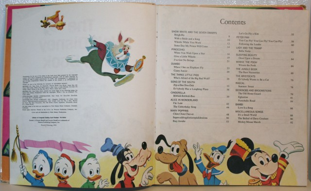 Walt Disney Song Book 005