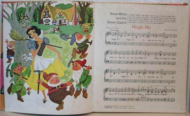 Walt Disney Song Book 006