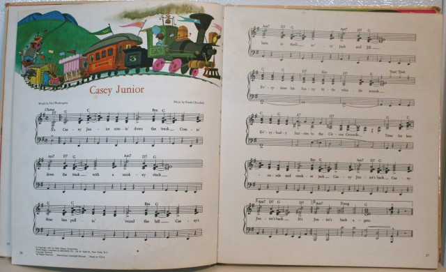 Walt Disney Song Book 007