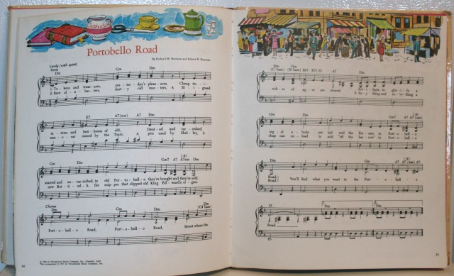 Walt Disney Song Book 011