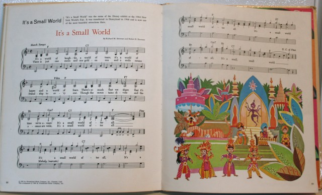 Walt Disney Song Book 012
