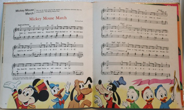 Walt Disney Song Book 014