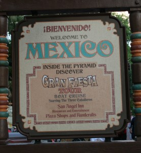 Gran Fiesta Tour Sign