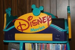 Disney Movie Display Stand 002