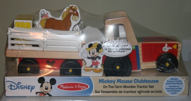 Mickey Tractor 1