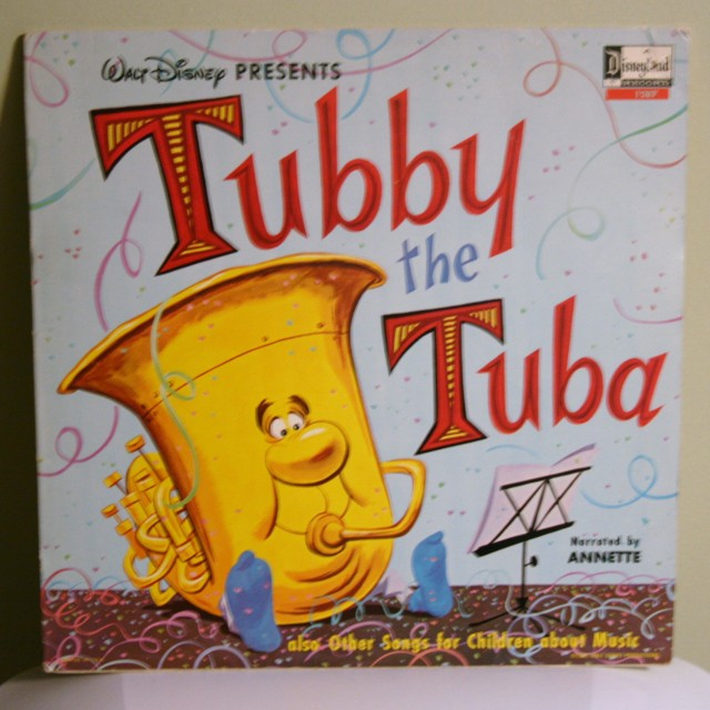 Tubby the Tuba Record 1