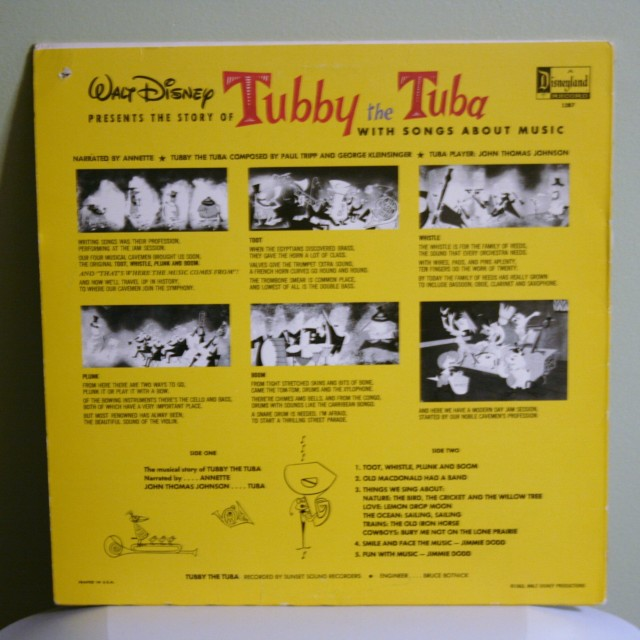 Tubby the Tuba Record 2