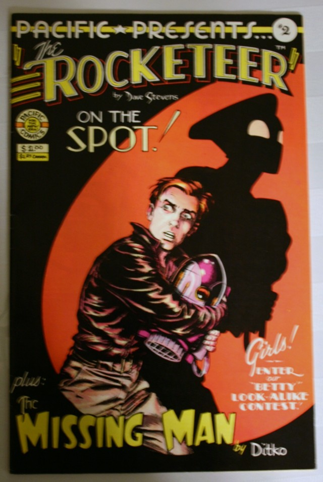 The Rocketeer Comic Book 002