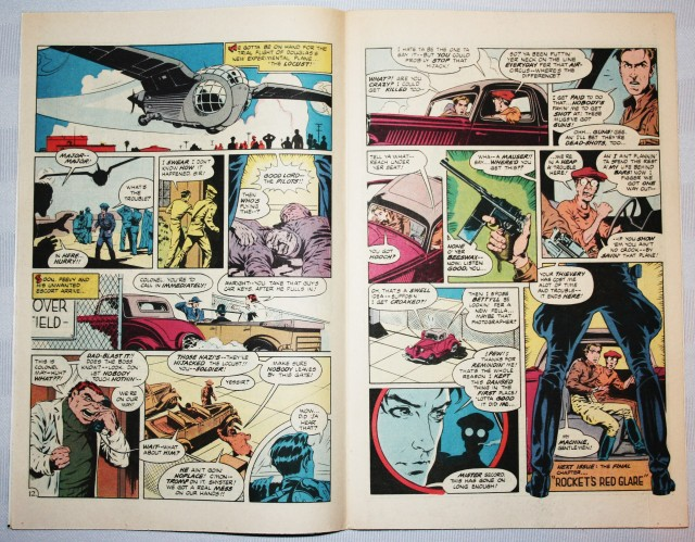 The Rocketeer Comic Book 004