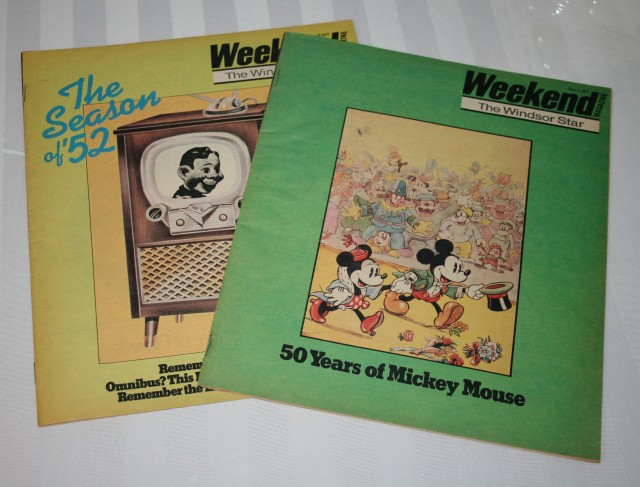 Weekend Magazine Covers 001