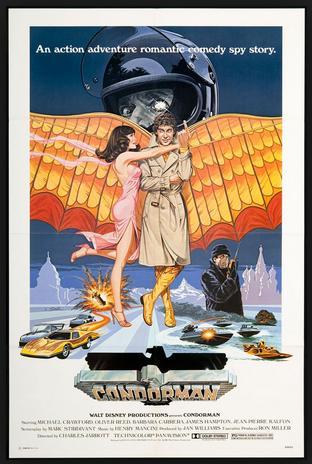 Condorman Movie Poster
