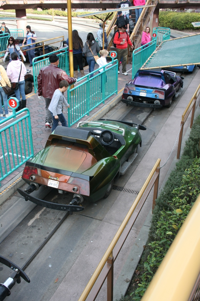 Disneyland Autopia