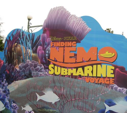 Finding Nemo Subs Signage