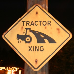 Tractor Crossing