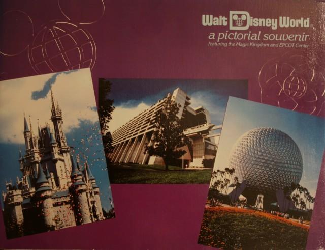 WDW 1983 Pictorial Souvenir 1