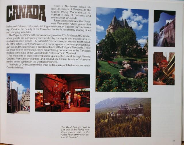 WDW 1983 Pictorial Souvenir 10
