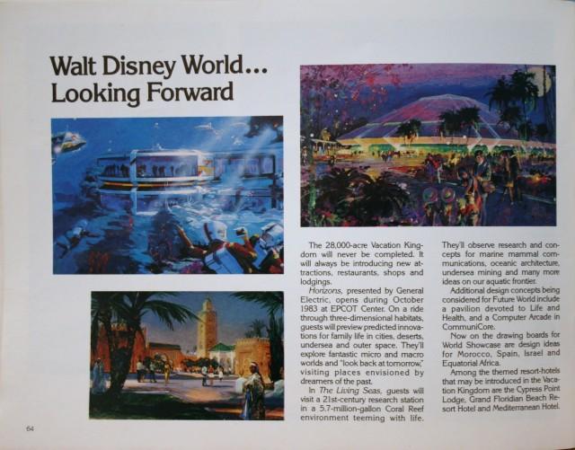 WDW 1983 Pictorial Souvenir 18