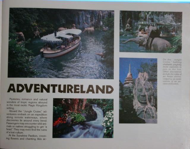 WDW 1983 Pictorial Souvenir 3